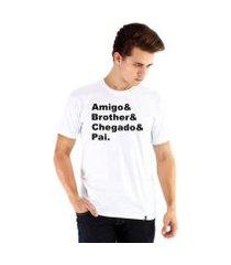 camiseta ouroboros amigão masculina