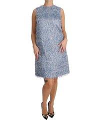 fringe shift gown dress