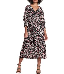 women's sanctuary fontana long sleeve midi dress