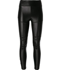 koral moto infinity performance leggings - black