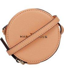 marc jacobs shoulder bag in orange leather