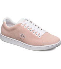carnaby evo 1205 sfa låga sneakers rosa lacoste shoes