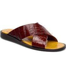 sandals 4172 shoes summer shoes flat sandals röd billi bi