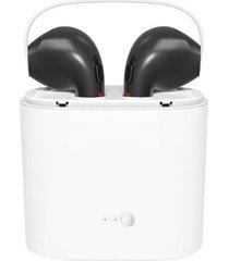 audifonos bluetooth tws v4.2 inalambrico con caja de carga negro