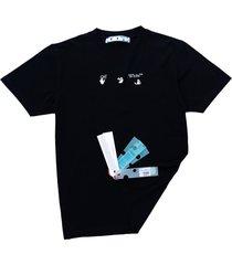 off-white off-white cotton t-shirt