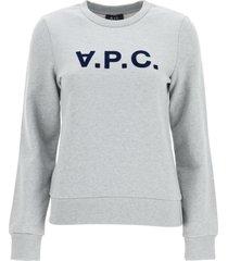 a.p.c. sweatshirt logo