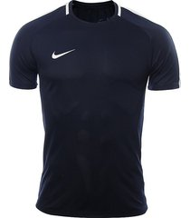 camiseta nike dry academy-azul oscuro