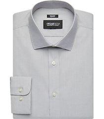 awearness kenneth cole gray stripe slim fit dress shirt