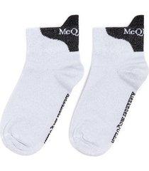 ankle logo print socks