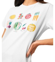 french connection le legumes graphic t-shirt