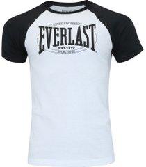 camiseta everlast básica el20280p - masculina - branco