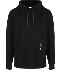 1017 alyx 9sm key chain detailed hoodie - black