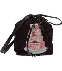 borsa donna a mano shopping cake teddy bear