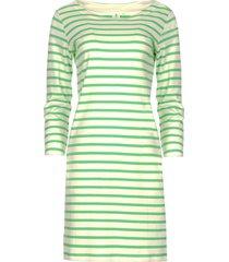 jurk met strepen mylena  groen