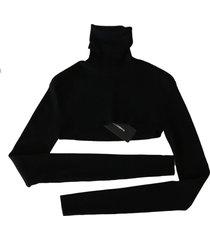 coltrui crop top wolsweater