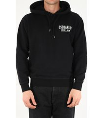 dsquared2 hooded sweatshirt with logo