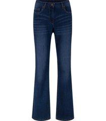 jeans elasticizzati con cinta comoda bootcut (blu) - bpc bonprix collection