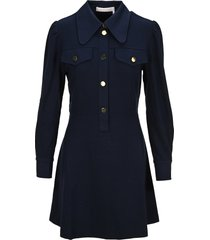 see by chloé see by chloe polo cinched dress