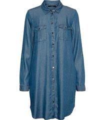 skjortklänning vmsilla ls short dress mix