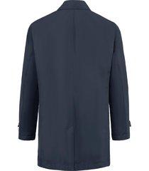 waterafstotende jas met sliponkraag van schneiders salzburg blauw