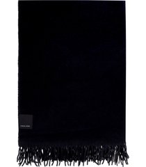 canada goose knitted wool scarf