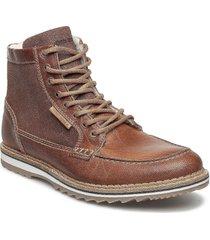 martyn gr mid fur shoes boots winter boots brun björn borg