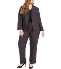 le suit plus size blazer & pants suit