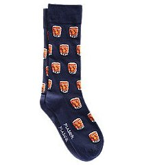 jos. a. bank whiskey glass socks, one-pair - king size