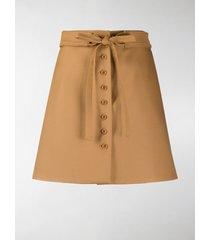 stella mccartney aliana a-line skirt