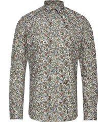 8584 - iver skjorta casual multi/mönstrad sand