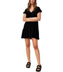 women's ritchie tiered tunic mini dress
