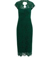 midi lace shift jurk