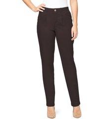 gloria vanderbilt women's pleated chino pants