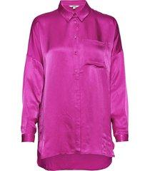 tikki overhemd met lange mouwen roze mbym