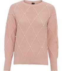 maglione con perle (rosa) - bodyflirt