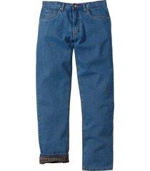jeans termici classic fit straight (blu) - john baner jeanswear