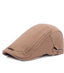 uomo donna lavato cotone ricamo etichetta di ferro berretto cappello casual forward hat