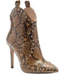 jessica simpson women's pixillez high heel booties women's shoes
