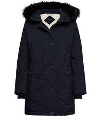d2. arctic parka parka lange jas jas blauw gant
