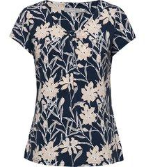 frjeself 1 blouse blouses short-sleeved blå fransa