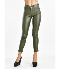 pantalón verde her jeans engomado