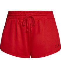 plus size women's city chic take down shorts, size x-small - red