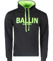 ballin est. 2013 heren trui hoodie sweat neon groen