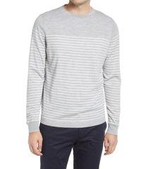 men's nordstrom tech-smart crewneck sweater, size xx-large - grey