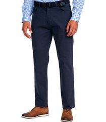 pantalon cinco bolsillos azul guy laroche