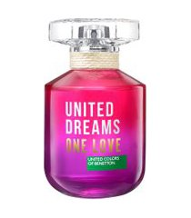 perfume benetton united dreams one love feminino eau de toilette 80ml único