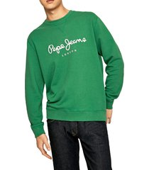 buzo verde-blanco pepe jeans