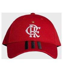 boné adidas performance baseball cr flamengo 1 vermelho