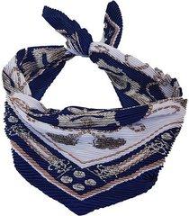 pañuelo azul nuevas historias  plisado ba1168bis-48