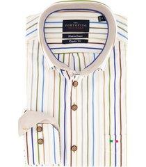 overhemd portofino meerkleurig gestreept